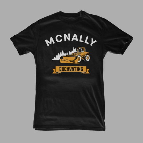 T-shirt concept for MC NALLY