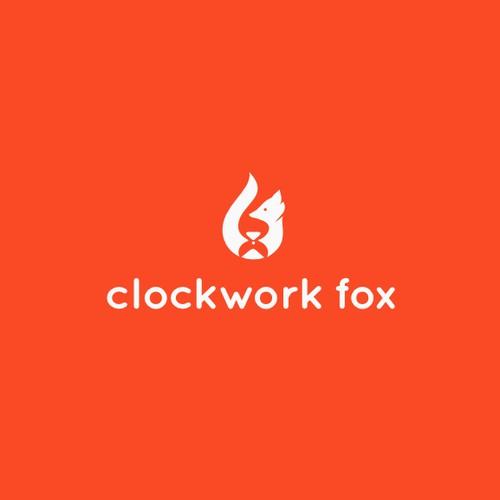 Clockwork fox logo design