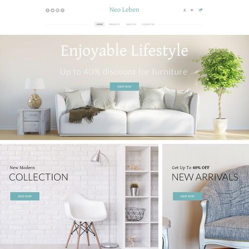Design Entry For a Online Shop