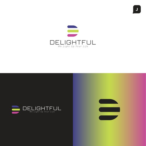 Bold Logo Concept for Delightful