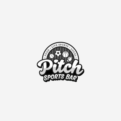 Sports Bar Logo Concept