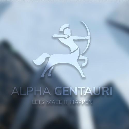illustrative logo for a financial company