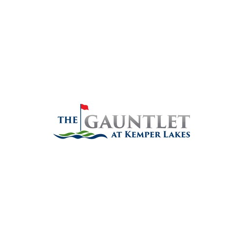 Logo for the Gauntlet at Kemper Lakes