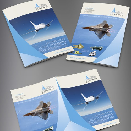 Brochure design for TJ Aerospace