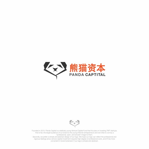 logo design for panda capital