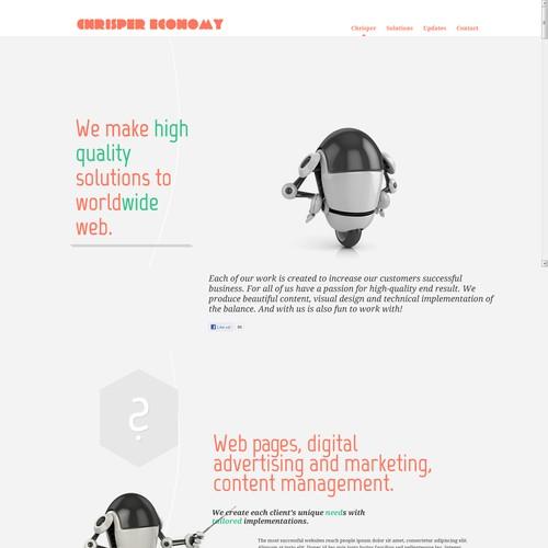 Website Design for Chrisper Economy