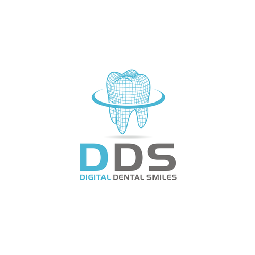 Logo for a digital dental laboratory