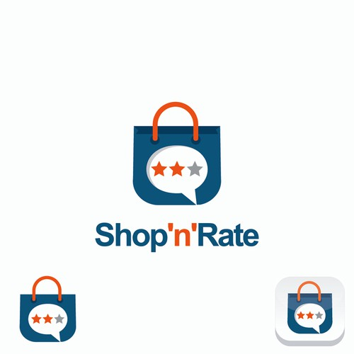 Create a logo for shopping addicted