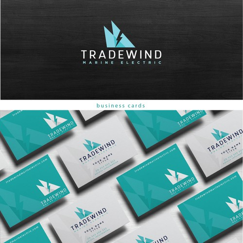 bold logo for yachting electrician