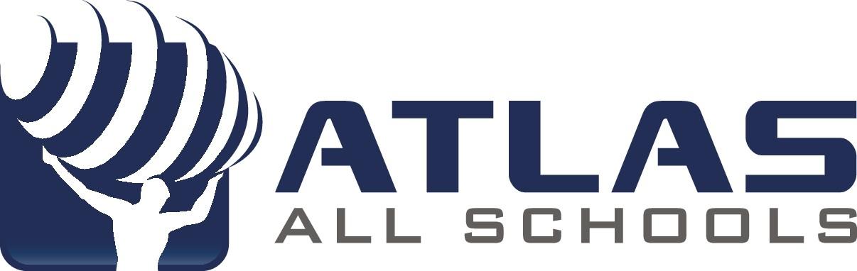 Atlas all schools logo design