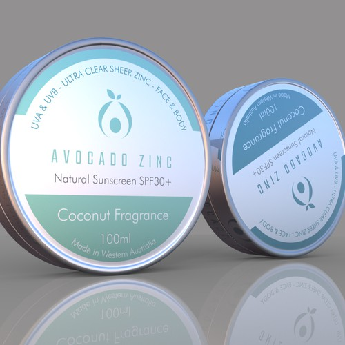 Avocado Zinc - label