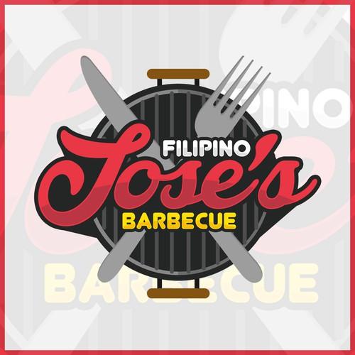 Jose's filipino barbecue logog