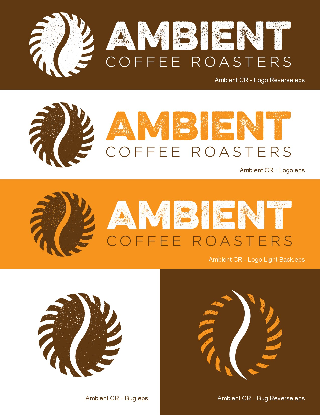 Please come up with an innovative design for my new coffee roasting business.