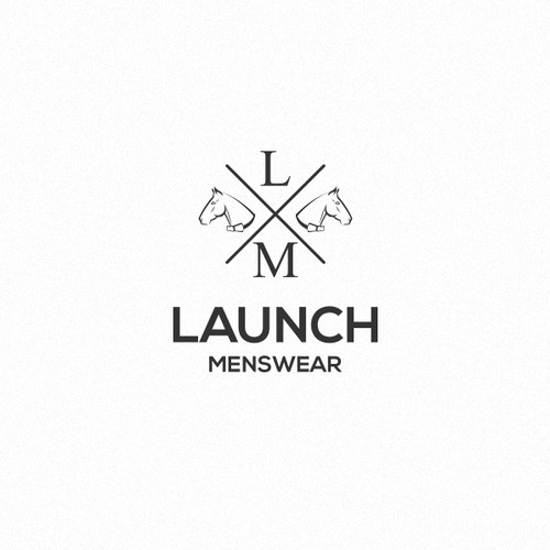 Help Launch Menswear with a new logo