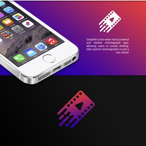 Logo for video app.