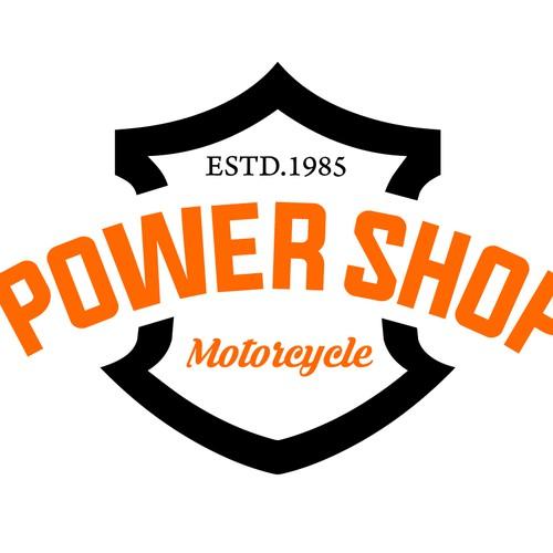 Modern Logo for Harley Davidson dealer
