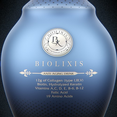 PET bottle for 355ml Collagen Drink