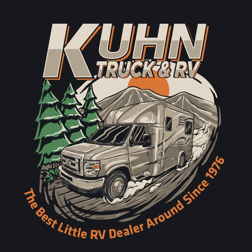RV t-shirt design