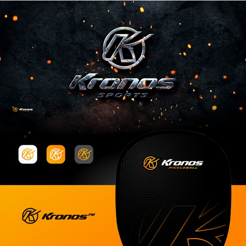 Strong & Sleek Logo for a Sport Tech Company