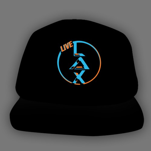 Hat Design for Lacrosse Events Company