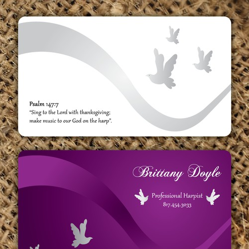 Create the next stationery for Brittany Doyle