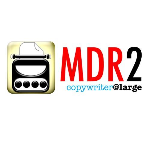 MDR2 logo design