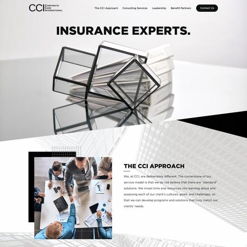 保险公司网站设计