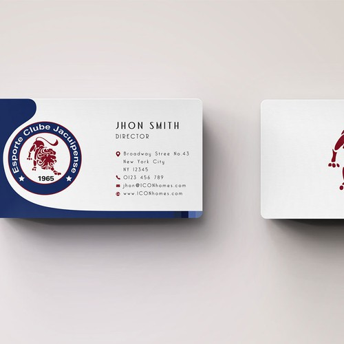 business card for Esporte Clube Jacuipense