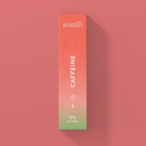 creative packaging for a non-nicotine vape company