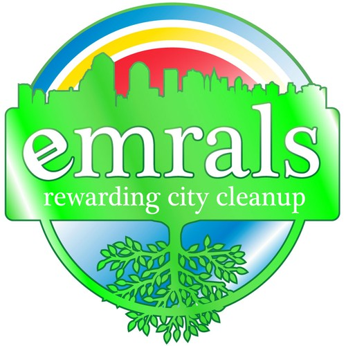 [New Guaranteed!]  Cryptocurrency game to clean cities - Emrals - looking for awesome logo design!