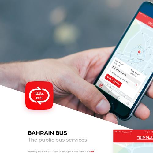 Bahrain Bus App UI/UX Revamp