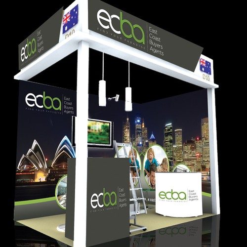 Eye catching graphic design required for Trade show booth - Real Estate.