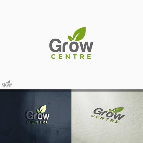 Logo design for Grow Centre