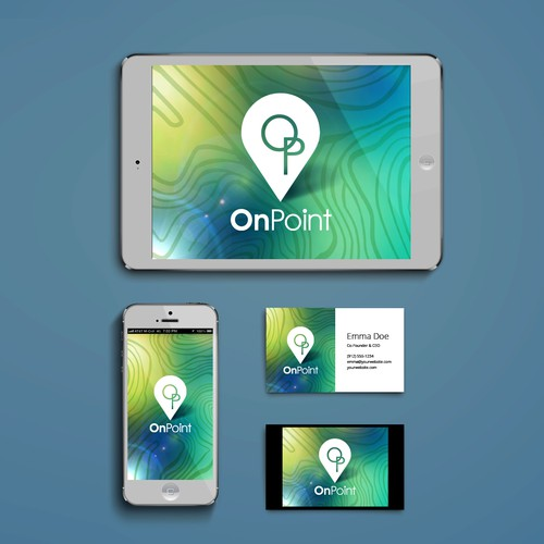 Design simple app background splashscreen
