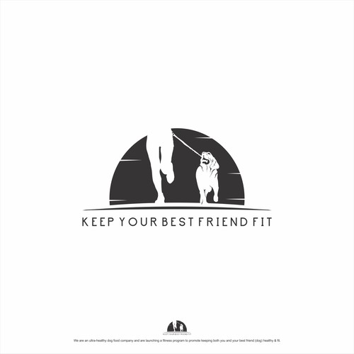 logo concept for KEEP YOUR BEST FRIEND FIT