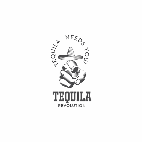 Logo for tequila fans