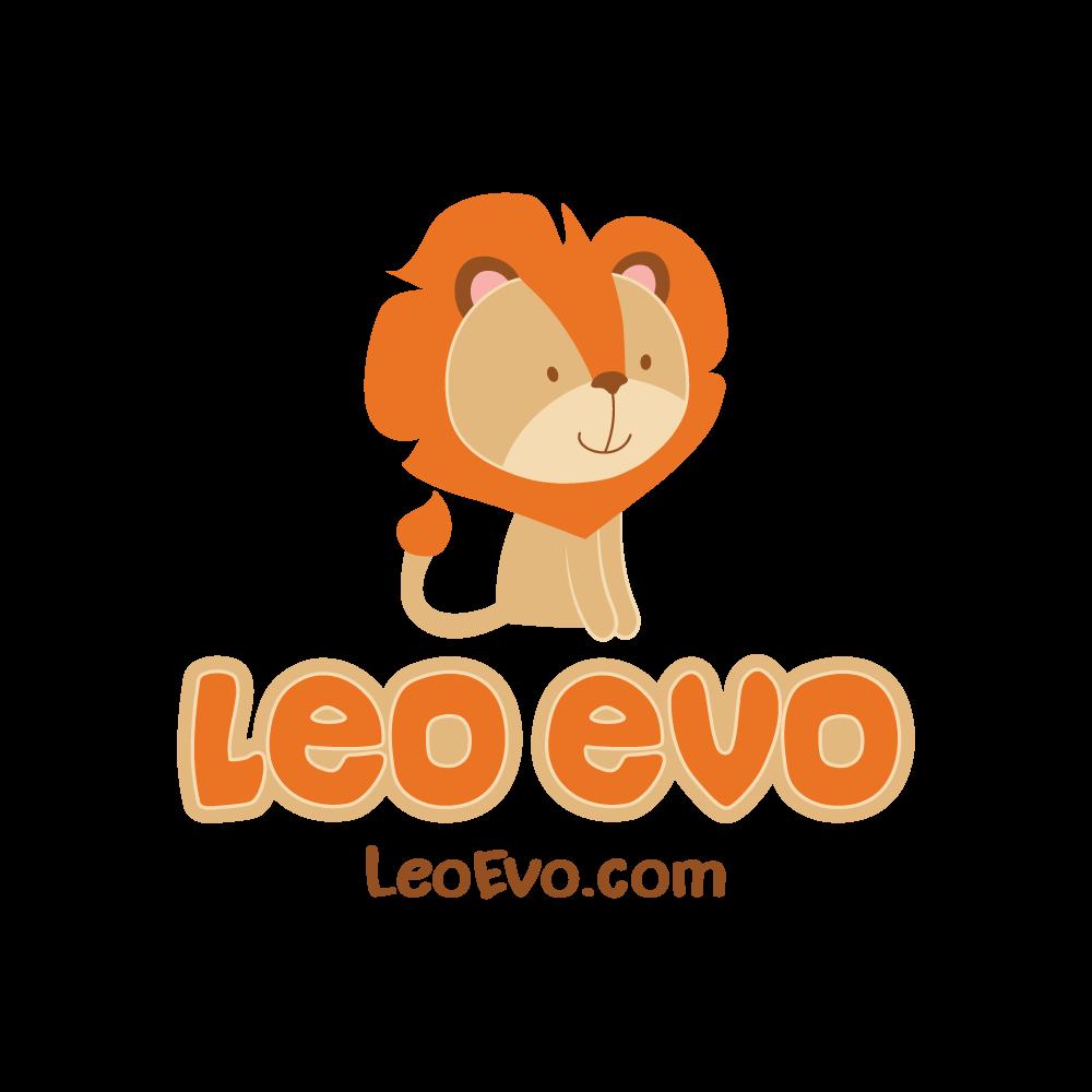 Logo for children's brand 'Leo Evo'