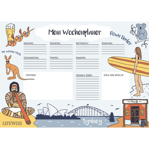 Sydney illustration