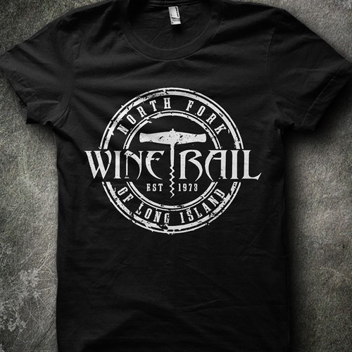 NOFO Wine Trail T-Shirt, uploaded Sketch or create your own design.Multiple winners!