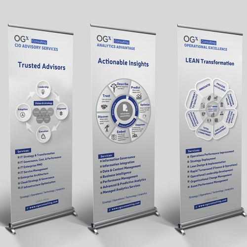 Trade Show Standing Banners