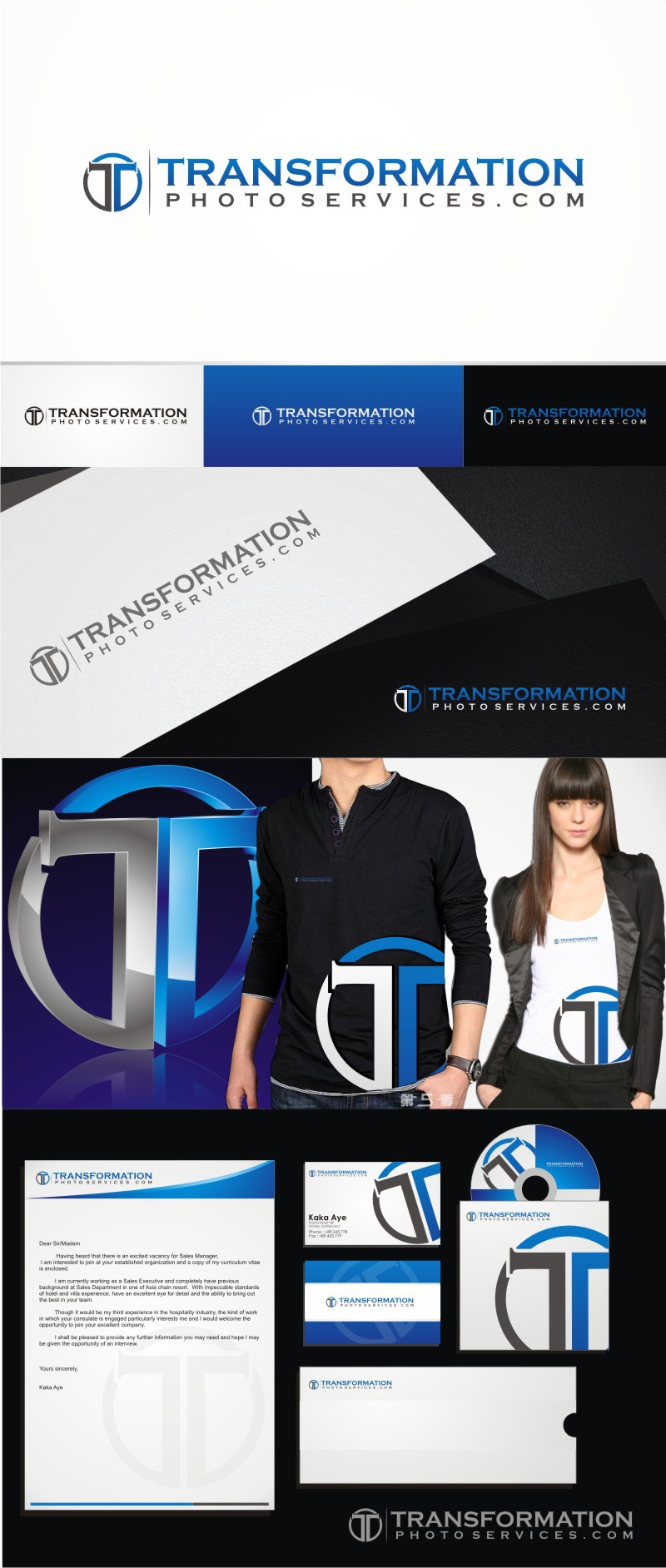 Help Transformation Photo Services with a new logo