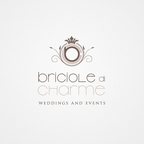 Creazione logo per Wedding Planner: Briciole di Charme
