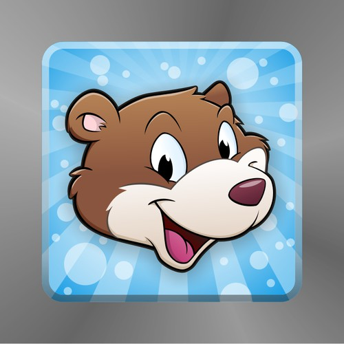 Icon for a cooperative word play game around bears