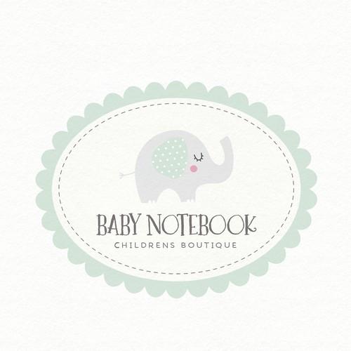 Design a Baby Memory Book App Logo for Baby Notebook