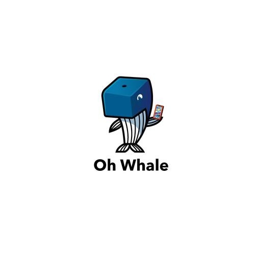 Whale Mascot - Animal Mascot
