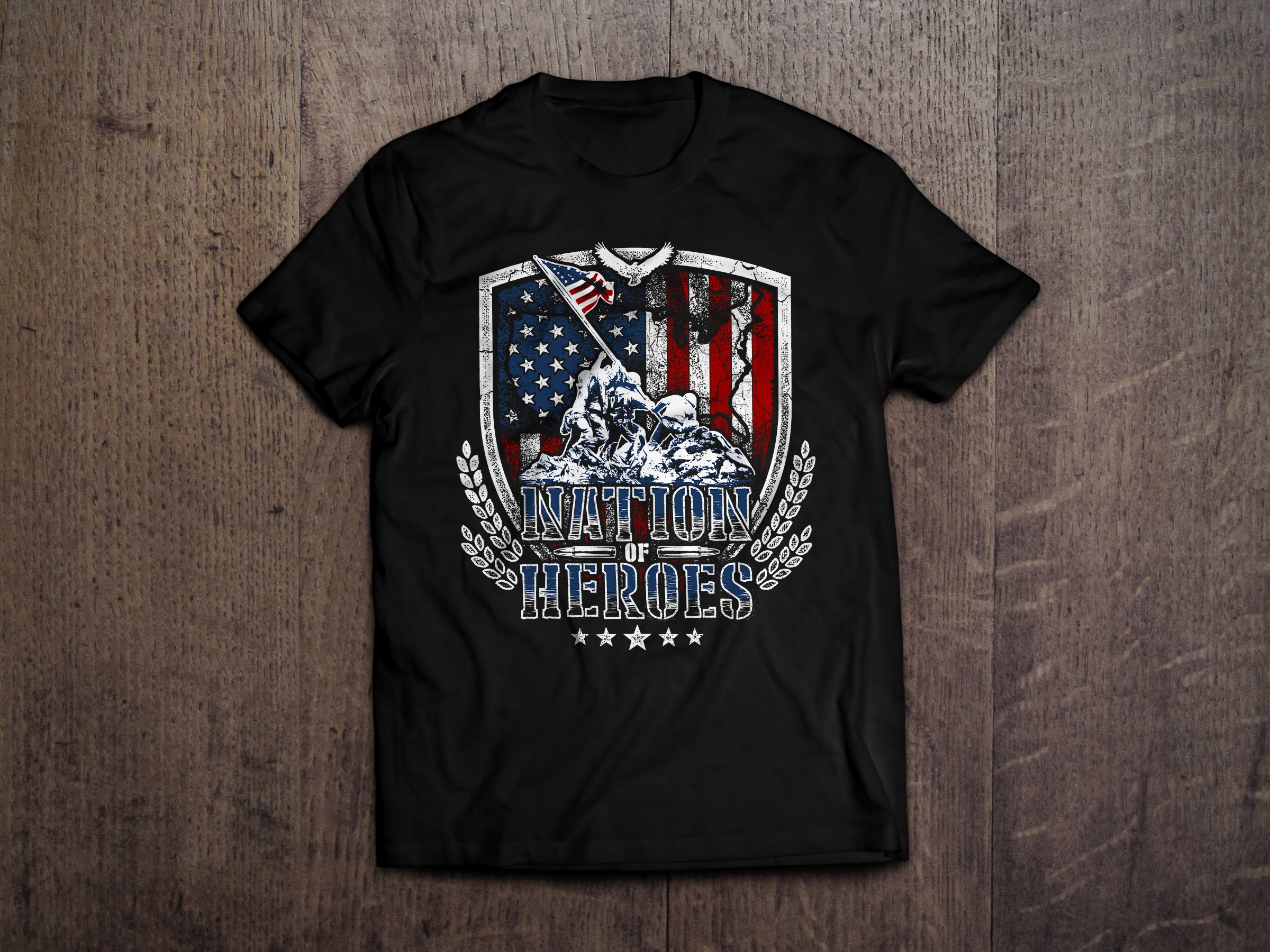 Design a Patriotic T-Shirt for Summer