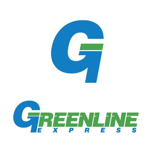 Modern Contemporary logo submission for a freight company.