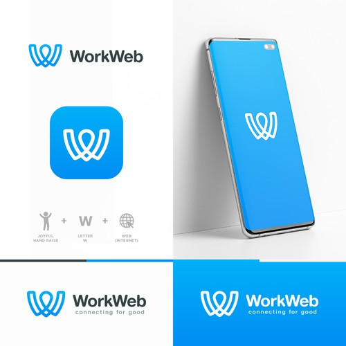 WorkWeb Logo Concept