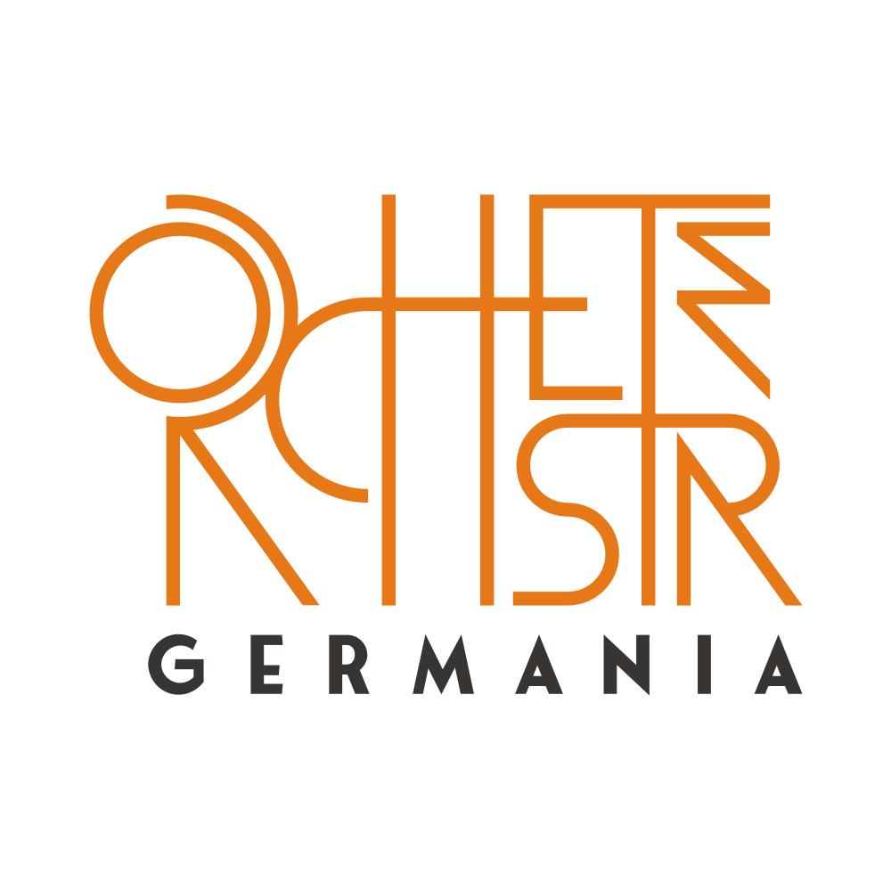 Aufregendes Orchesterlogo für gesättigte Bildungsbürger und neugierige Hipster