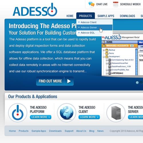 MyAdesso Website Redesign